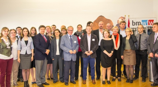 IncoNet Eastern Partnership, Consortium Partners, Vienna, 14 October