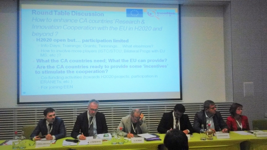 Workshop on the State of Affairs & Future of EU-Central Asia STI Cooperation, Brussels, 3 September 2015