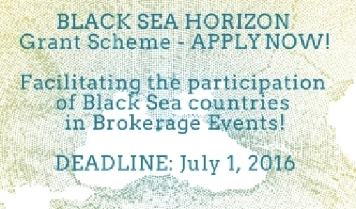 Black Sea Horizon Grant Scheme to facilitate the participation of Black Sea countries in Brokerage Events – APPLY NOW!