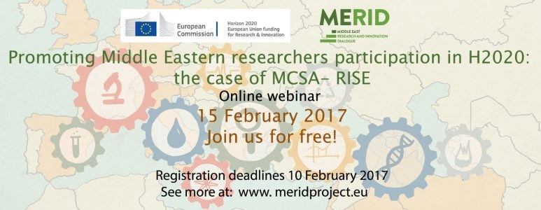 Enhancing research & innovation cooperation & promoting researchers participation in H2020 Research & Innovation programme: the case of MCSA-RISE