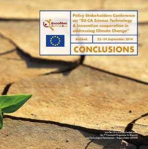 Conclusions of the IncoNet CA Policy Stakeholders Conferences
