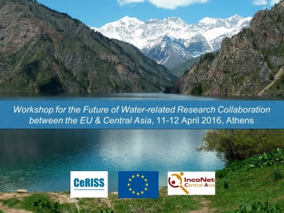Final Report for the Future of Water-related Research Collaboration between the EU & Central Asia